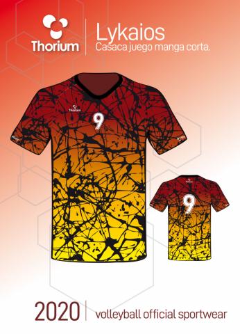 likaios thorium volleyball